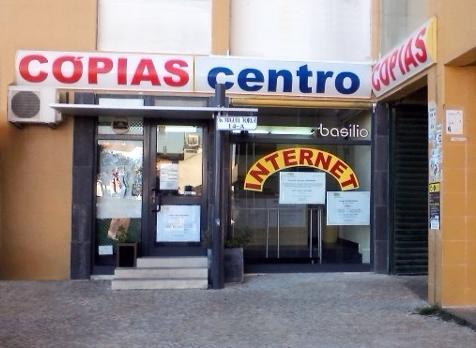 Espaço Comercial, na área da cópia e serviços